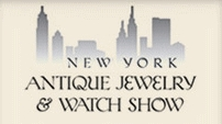 NEW YORK ANTIQUE JEWELRY & WATCH SHOW 2019 fuar logo