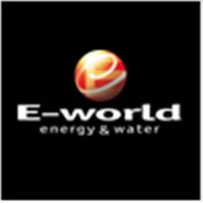 E-World fuar logo